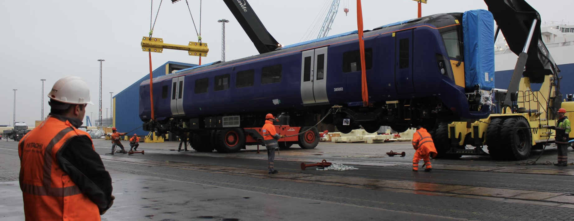 Transporting and reforming of rolling stock